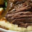 Slow Roasted Braised Short Ribs with Cabernet Demi-Glacé