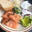 Smoked Fish Plate for 2