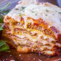 The Ultimate Meat Lasagna