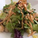 Sizzling Scallop Salad
